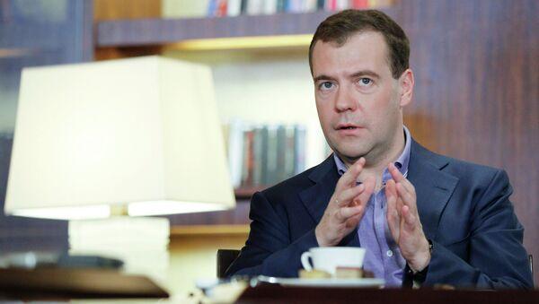 Президент РФ Д.Медведев встретился с журналистами после заседания лидеров БРИКС