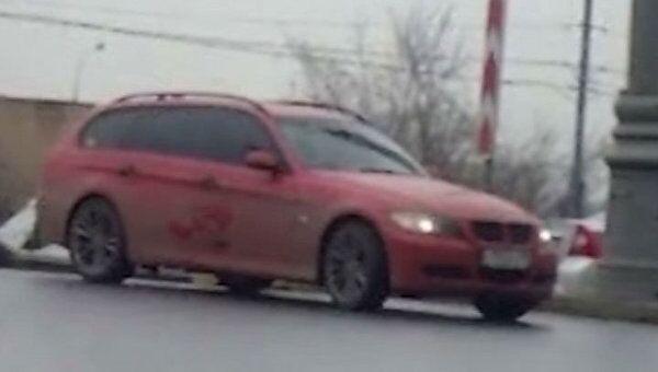 На съезде с ТТК в районе Рижской эстакады столкнулись ВАЗ 2104 и BMW