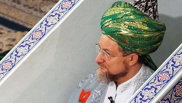 Верховный муфтий России Талгат Таджуддин. Архив