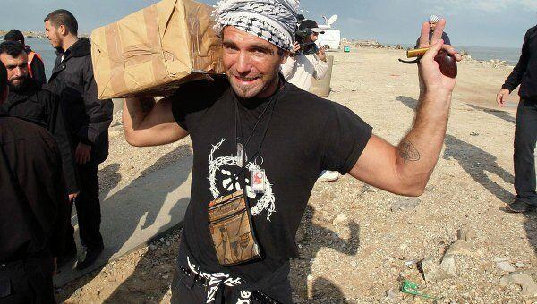 Итальянец Витторио Арригони, похищенный в секторе Газа