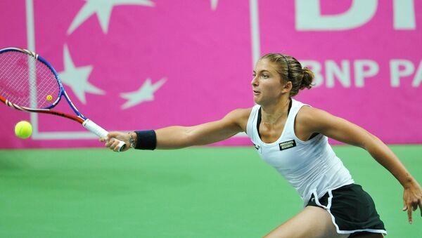 Итальянская теннисистка Сара Эррани. Архивное фото