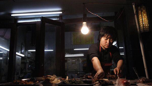 Торговец в Китае. Архив