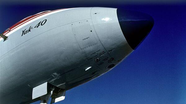 Самолет Як-40. Архив