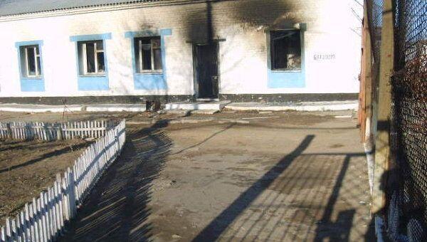 Пожар в колонии номер 10 Краснокаменска, где сидел Ходорковский. Здание банно-прачечного комбината