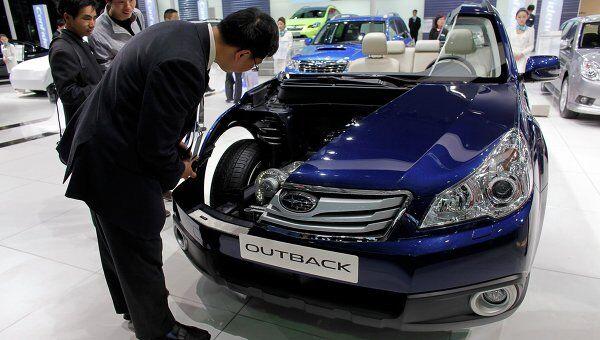 Subaru Outback в разрезе на Автошоу Шанхай 2011. Архив
