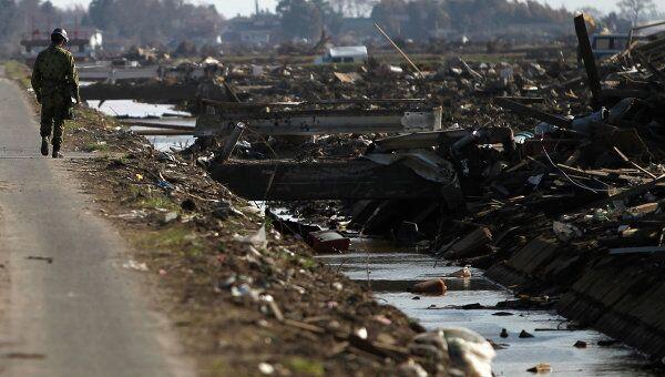 Последствия землетрясения в префектуре Мияги, Япония