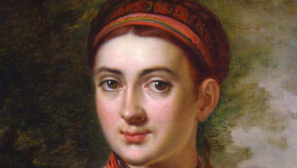 Тропинин В.А. (1776–1857). Девушка с Подолья. До 1821.