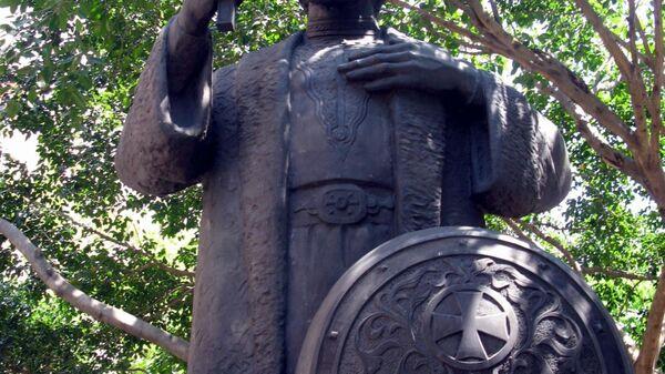 Памятник равноапостольному князю Владимиру в Буэнос-Айресе