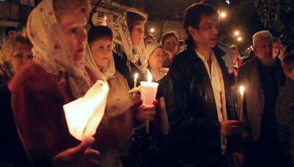 Россияне, украинцы и белорусы отметили Пасху в соборе Буэнос-Айреса