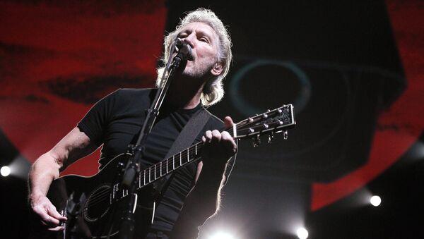 Основатель группы Pink Floyd Роджер Уотерс. Архивное фото