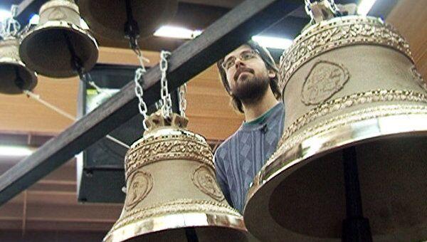 Вальс колоколов и московский перезвон на пасхальной выставке в Москве