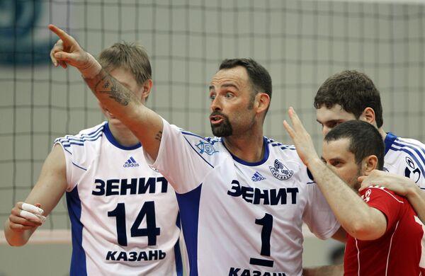 Александр Абросимов, Ллой Болл, Максим Михайлов и Владислав Бабичев (слева направо)