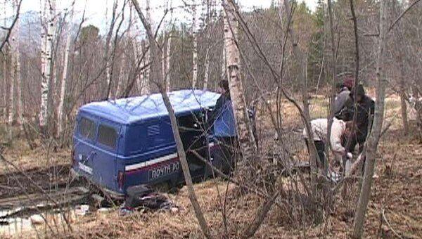 Грабители убили водителя «Почты России» и забрали деньги. Видео с места ЧП