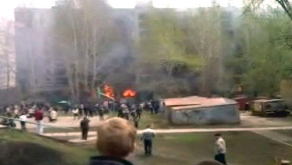 Крупный пожар в жилом доме в Самаре унес жизни шести человек