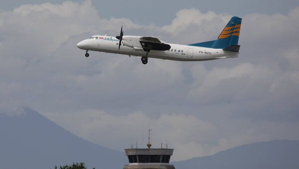 Самолет Xian MA-60 авиакомпании Merpati