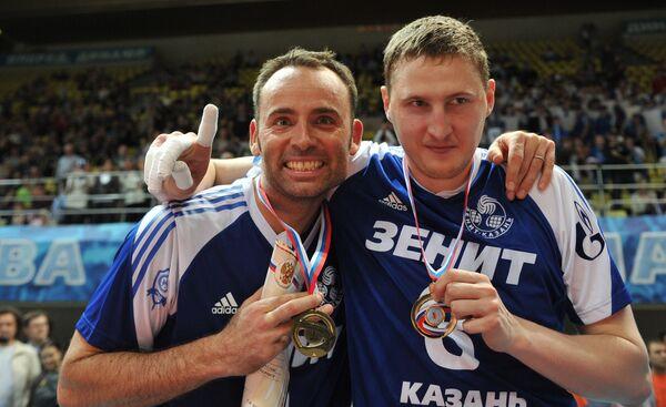 Ллой Болл и Сергей Тетюхин (слева направо)