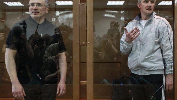 Рассмотрение кассационной жалобы на приговор Михаилу Ходорковскому и Платону Лебедеву в Мосгорсуде