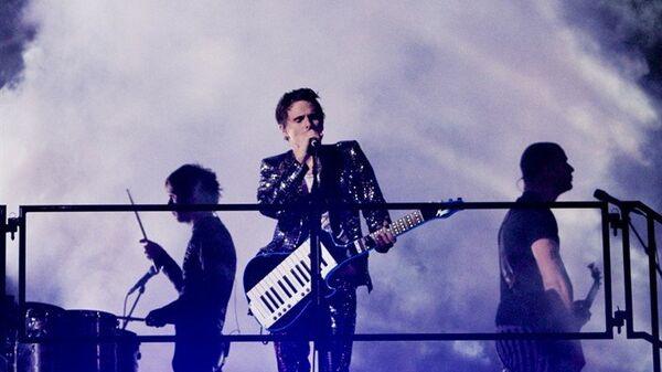 Выступление группы Muse на стадионе Wembley