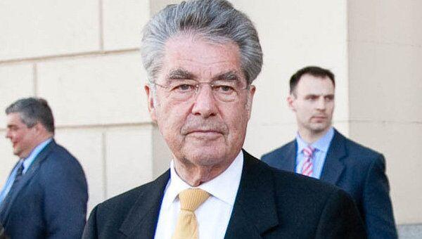 Президент Австрийской Республики Хайнц Фишер. Архивное фото