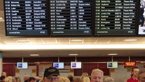 Более 250 рейсов отменены в Европе из-за извержения вулкана Гримсвотн