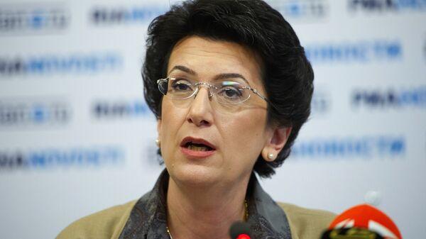 Нино Бурджанадзе выступила в ходе видеомоста Москва-Тбилиси