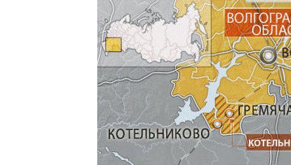 Цистерны с нефтью горят на месте ж/д аварии в Волгоградской области