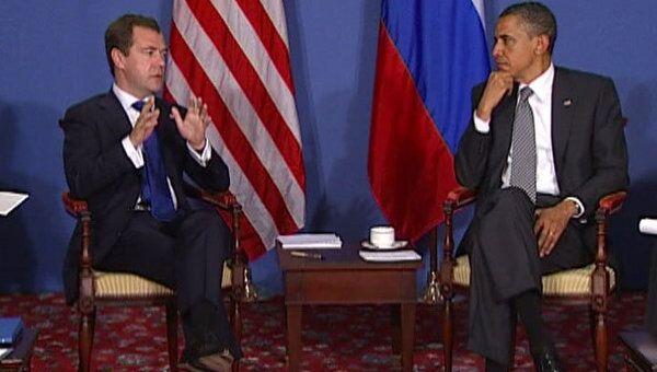 Медведев и Обама намерены форсировать вступление России в ВТО