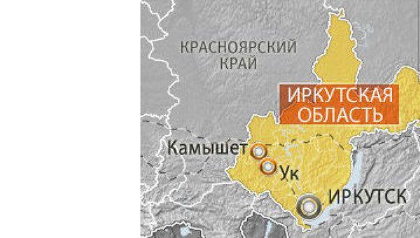 Более 20 вагонов грузового поезда сошли с рельсов в Иркутской области