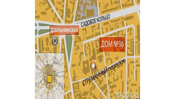 Рабочий погиб при обрушении стены во время реконструкции здания в центре Москвы