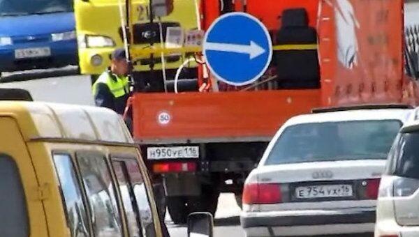 Свежая разметка и новые парковки на улицах Набережных Челнов