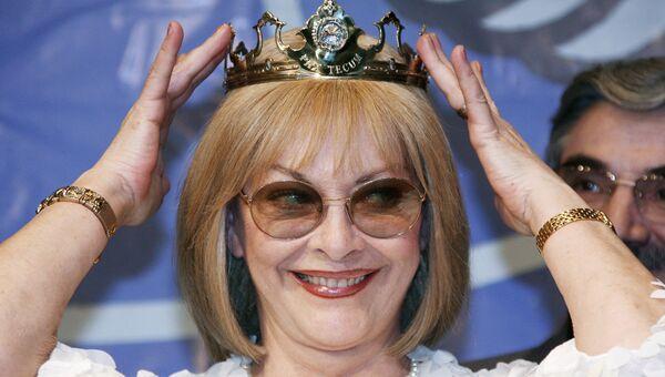 Актриса Барбара Брыльска. Архивное фото