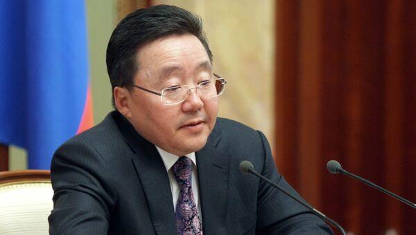 Президент Монголии Цахиагийн Элбэгдорж. Архивное фото