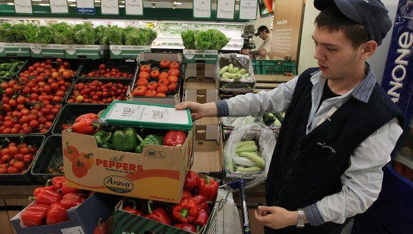 Запрет на ввоз в Россию овощей из Европы снят