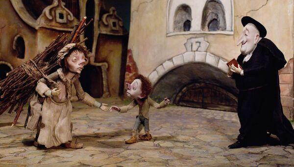 Куклы – персонажи из мультфильма Гофманиада