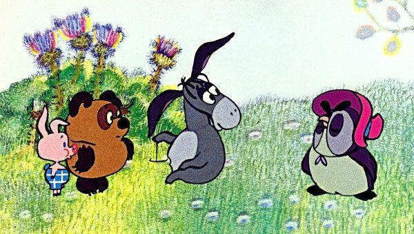 Кадр из мультфильма Винни-Пух и день забот