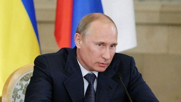 В.Путин на 8-м заседании Комитета по вопросам экономического сотрудничества Российско-Украинской межгосударственной комиссии
