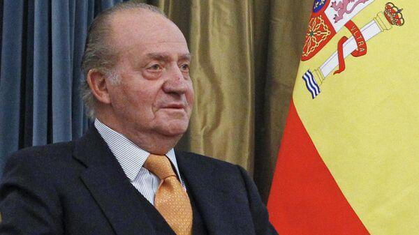 Король Испании Хуан Карлос I, архивное фото