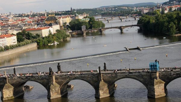Полет над Прагой