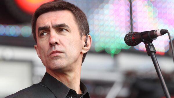 Музыкант Вячеслав Бутусов