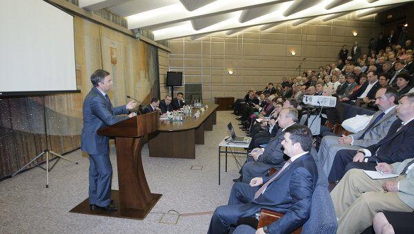 Заседание штаба Общероссийского народного фронта в Москве