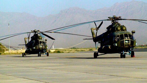 Вертолеты Ми-17 российского производства. Архив