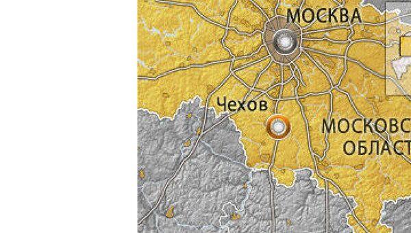 город Чехов в Московской области