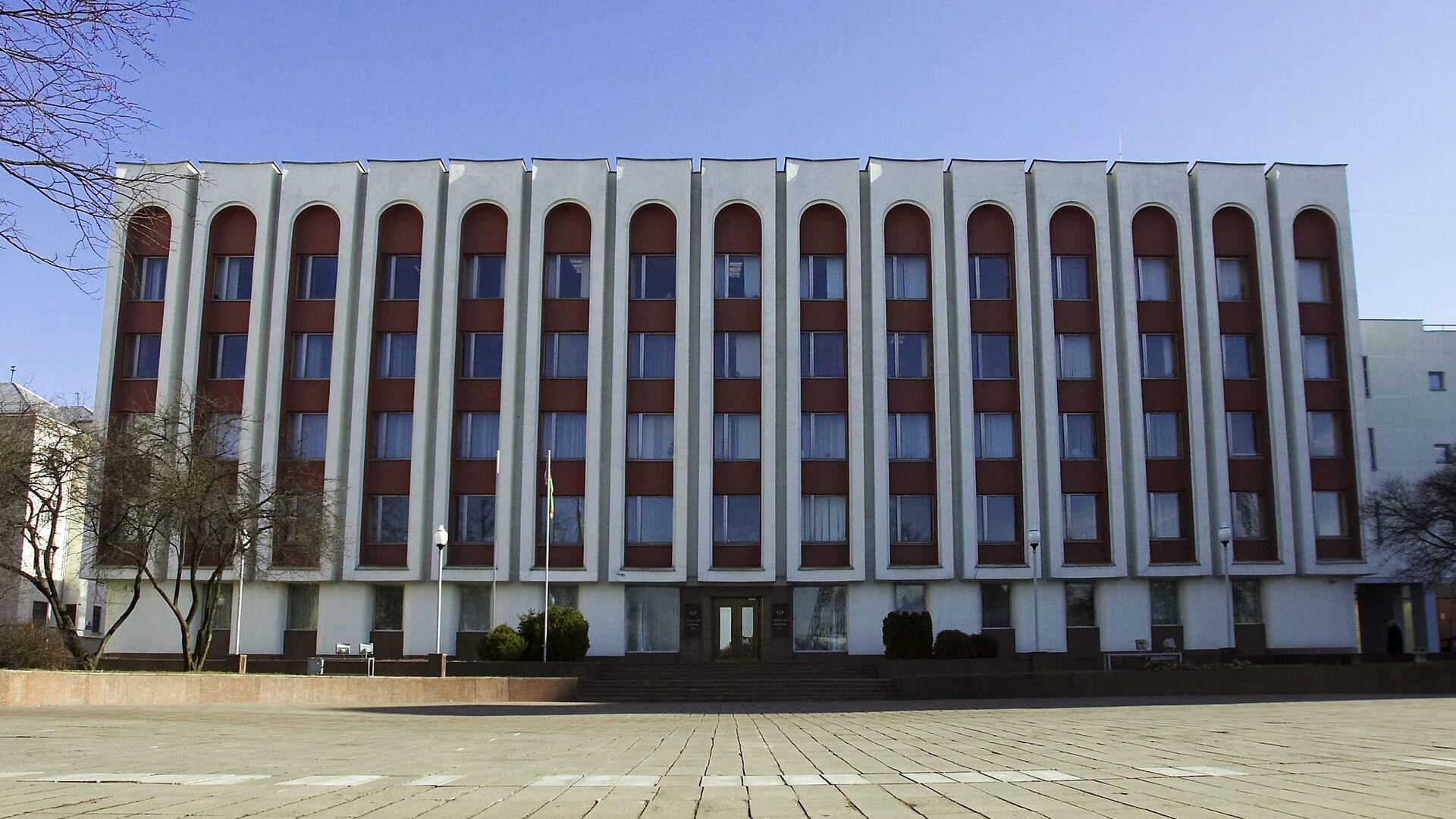Здание Министерства иностранных дел Республики Беларусь - РИА Новости, 1920, 06.07.2021