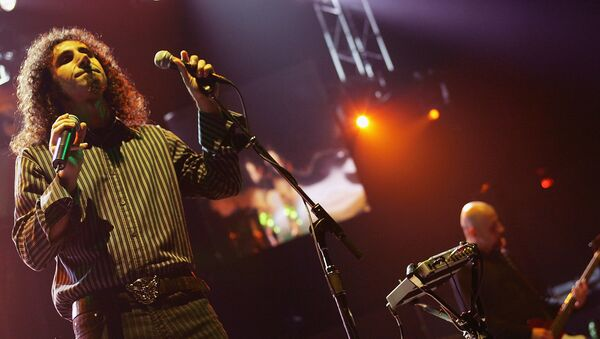 Рок-группа System of a Down впервые выступит в Москве. Архивное фото