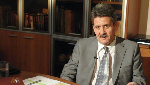 Начальник Управления регистрации и архивных фондов ФСБ России Василий Христофоров. Архивное фото