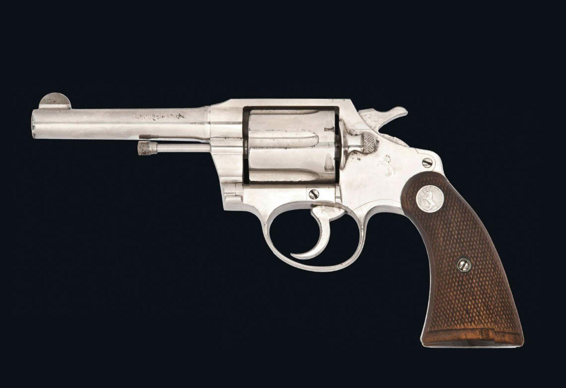 Револьвер, принадлежавший Аль Капоне - РИА Новости, 1920, 29.01.2021