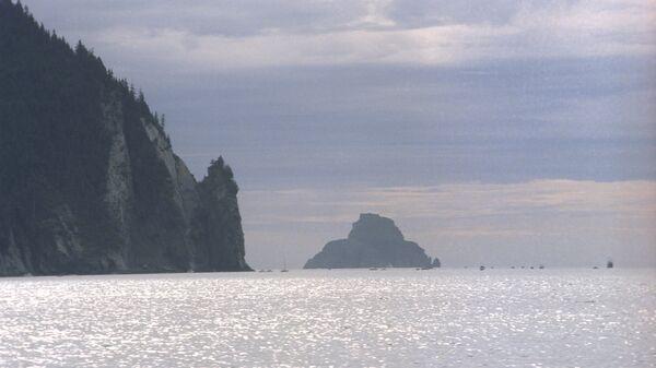 Алеутские острова. Архивное фото