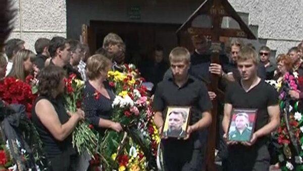 Погибшего в авиакатастрофе арбитра Петтая похоронили в Петрозаводске