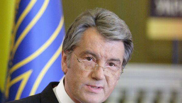 Экс-президент Украины Виктор Ющенко, архивное фото
