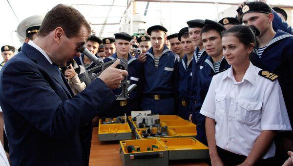 Рабочая поездка президента РФ Д.Медведева в Дальневосточный федеральный округ
